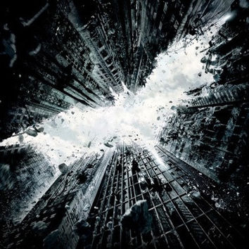 "Batman Movie 2013 Art Print Poster 001 14""x 25"" Cloth"