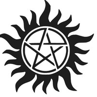 SUPERNATURAL ANTI POSSESSION Decal Computer Window Car Sticker Choose Size and Color