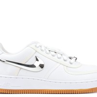 "Air Force 1 Low ""travis Scott"" - Nike - aq4211 100 - white/white-white 