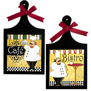 French Chef Wall Plaque ( Case of 16 )