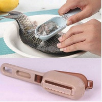 Fish Skin Scraping Fish Scale Brush Graters Fast Remove Kitchen Tool Gadgets(color random) = 1668827844