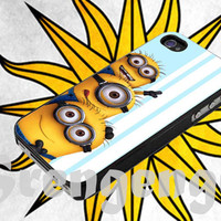 Despicable me Minion Funny Face, iphone 4/4s,5/5s/5c, samsung galaxy (mini) s3,s4,s5, Galaxy note 2,3, ipod touch 4,5