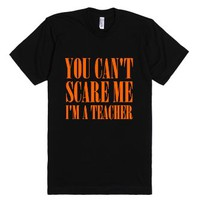 I'm A Teacher-Unisex Black T-Shirt