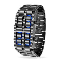 Bling Jewelry Black Lava Watch