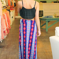 Diamonds Are Forever Maxi Skirt