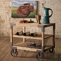 Rolling Dining Cart
