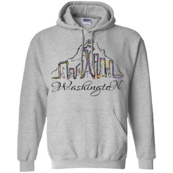 seattle washington skyline sweatshirt T-Shirt