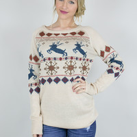 Winter Wonderland Knit Tunic Sweater