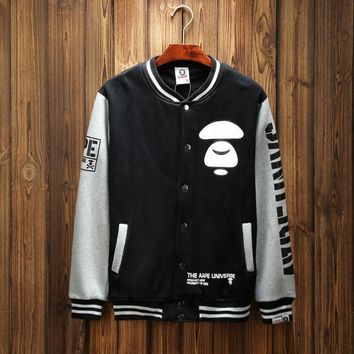 'BAPE' Sports Hot Deal On Sale Couple Winter Patchwork Baseball [211446398988]