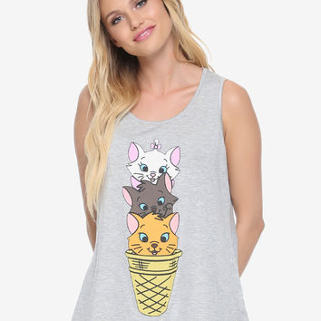 Disney The Aristocats Ice Cream Womens Tank Top - BoxLunch Exclusive