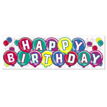 Happy Birthday Sign Banner - All-Weather #53105