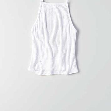 Don't Ask Why Scoop Back Tank , White