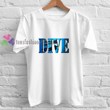 Diving Dive t shirt gift tees unisex adult cool tee shirts buy cheap