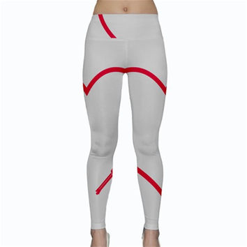 Customizable Shotgun Heart Yoga Leggings