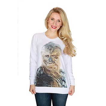 Her Universe Women's Star Wars Chewbacca Snow Pullover Plus Size