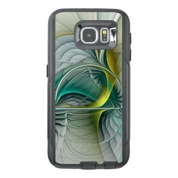 Fractal Evolution, abstract Art OtterBox Samsung Galaxy S6 Case