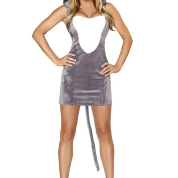 Atomic Gray Mouse Costume