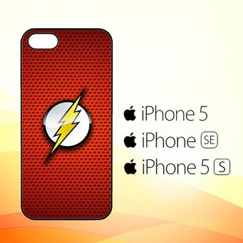 The Justice League The Flash Logo X0197  iPhone 5|5S|SE Case