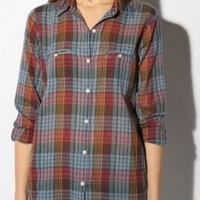 UrbanOutfitters.com > BDG Classic Plaid Breezy Button-Down Shirt