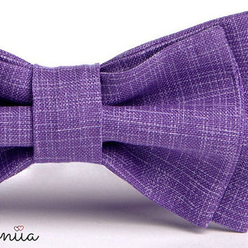 Purple Bow Tie - Lavender Bow Tie - Toddler Bow Tie - Purple Ring Bearer Outfit - Purple Wedding Ideas