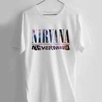 nirvana never mind galaxy T-shirt Men, Women and Youth