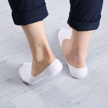 1 Pairs Women Soft Low Cut Casual Cotton Loafer Boat Non-Slip Invisible funny socks No Show Socks Women/Men Socks