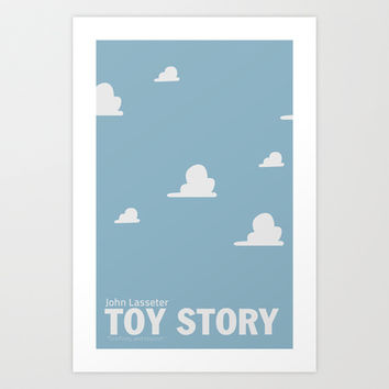 Toy Story | Minimalist Movie Poster Art Print by Sergio Camalich