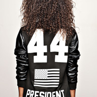 "BARACK OBAMA 44th President Ssweat-shirt ""F"" 