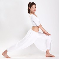 Mesh Loose Dance Pants Breathable quick dry