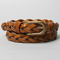 The Frenchie Belt in Brown
