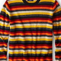 AEO Men's Striped Sweater (Multi)