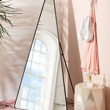 Triangle Standing Mirror - Urban Outfitters