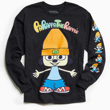 Parappa The Rapper Long Sleeve Tee   Urban Outfitters