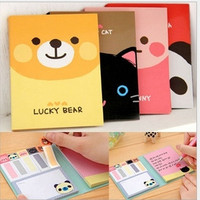 Cute Animals Sticker Post-It Bookmark Point It Marker Memo Flags Sticky Notes