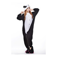 Unisex Adult Pajamas  Cosplay Costume Animal Onesuit Sleepwear Suit  Tears Panda