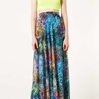 Tall Blurry Floral Maxi Skirt - New In This Week - New In - Topshop