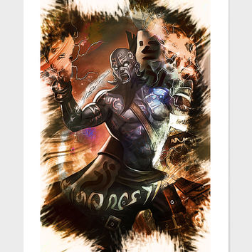 «League Of Legends RYZE» Art Print by Dusan Naumovski - Numbered Edition from $24.9 | Curioos