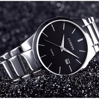 Stainless Steel Luxury Wrist Watch