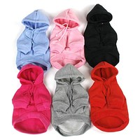 Casual Hoodie Sweater Dog Clothes & Cat Clothes