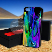 watercolorful paint splash case for  LG Nexus/HTC One/Samsung Galaxy S3,S4,S5/Note 2,3/iPod 4th 5th/iPhone 5,5s,5c,4,4s,6,6+[ NJ9 ]
