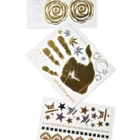 Bristols Six Rocker Nippies Flash Tattoos Multi One