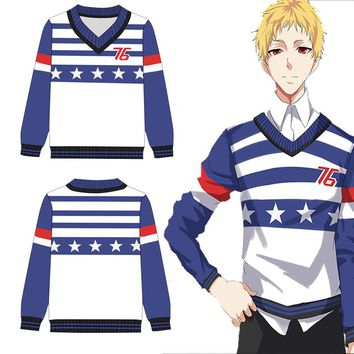 Overwatch Soldier: 76 Stars and Stripes Pullover Sweater