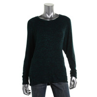 Studio M Womens Knit Marled Pullover Top
