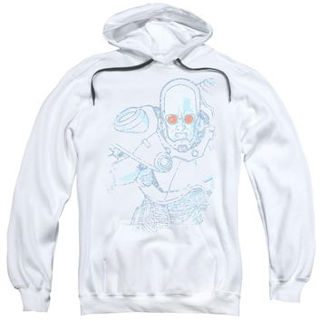 Batman - Snowblind Freeze Adult Pull Over Hoodie