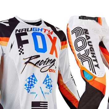 MX 360 Rohr Jersey & Pant Combo Racing Motocross Gear Set ATV Dirt Bike Offroad White Suit