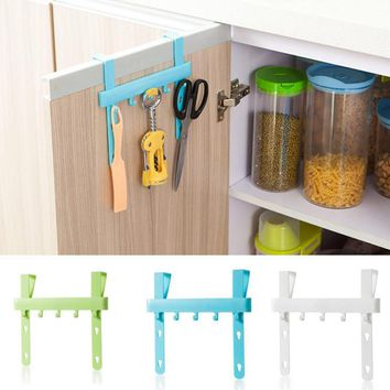 Door Rack Hooks Kitchen Hanging Storage Hanging Holders Accessories Tool door hanger hook