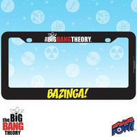 BIG BANG THEORY LICENSE FRAME