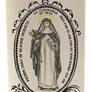 St Catherine of Siena for Healing Sickness 20 oz Soy Scented Prayer Candle