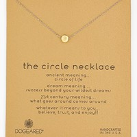 Women's Dogeared 'Reminder - The Circle'