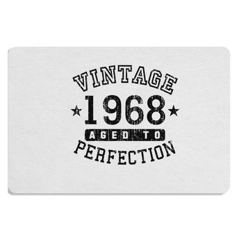 50th Birthday Vintage Birth Year 1968 Placemat